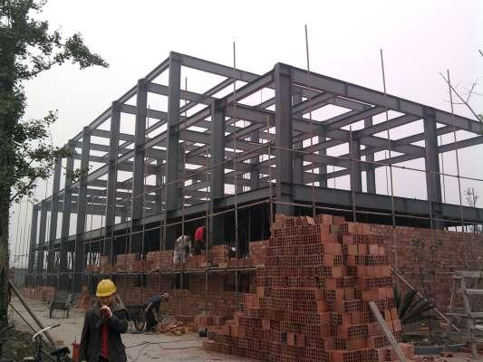 佳兴办公楼框架结构-四川佳兴钢结构工程有限公司